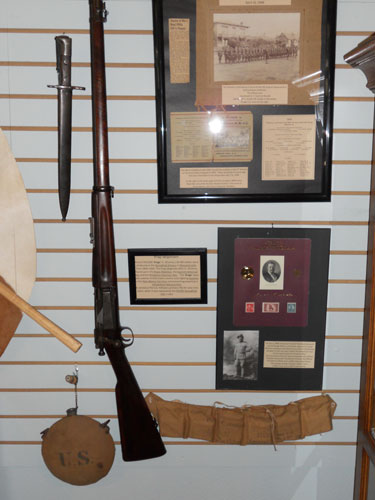 Spanish American War exhibit