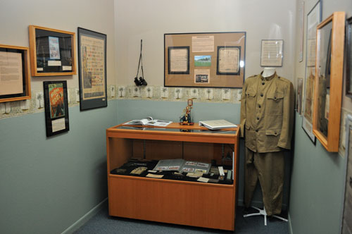 World War 1 exhibit